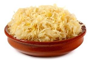 Sauerkraut - Prebióticos y probióticos ejemplos de alimentos