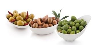 Aceitunas y encurtidos - Prebióticos y probióticos - Ejemplos de alimentos en dieta probiótica y prebiótica