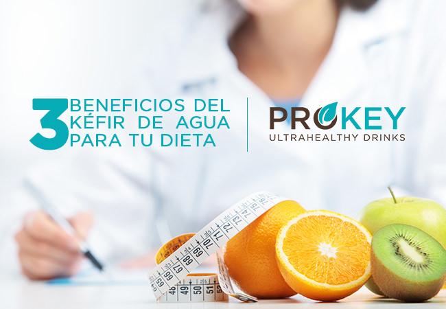 3 Beneficios del Kéfir de Agua para Personas a Dieta, que te Gustarán