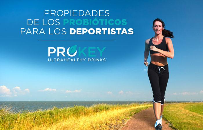 propiedades de los probióticos para el deporte