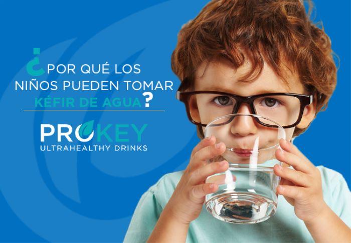 El Kéfir de agua es beneficioso para los niños