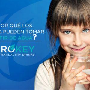 ¿Por qué los niños pueden tomar kéfir de agua?