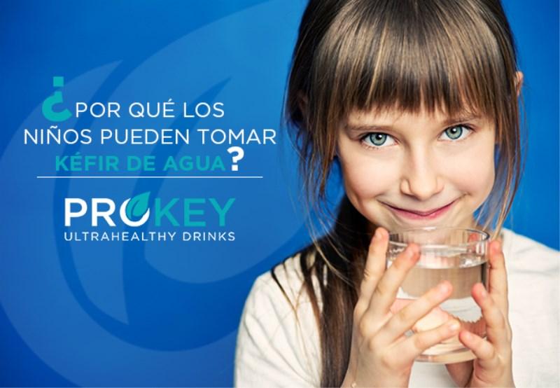 Kéfir de agua para niños. 5 Beneficios que te Gustarán