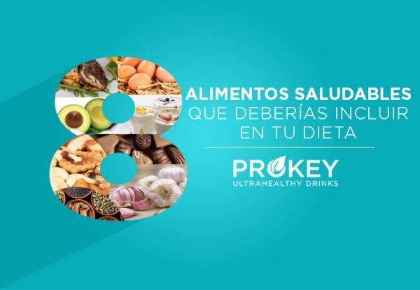 Alimentos saludables que deberías incluir en tu dieta