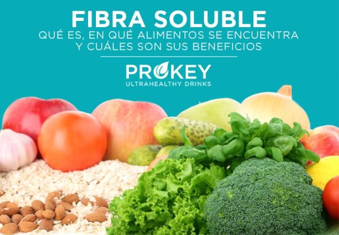 Composición, propiedades y beneficios de la fibra soluble para el organismo