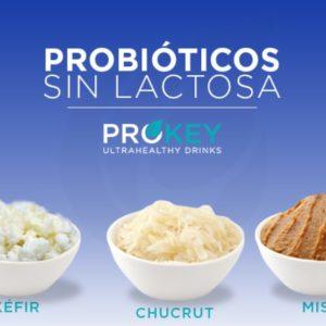 Los probióticos sin lactosa como parte de una alimentación sana