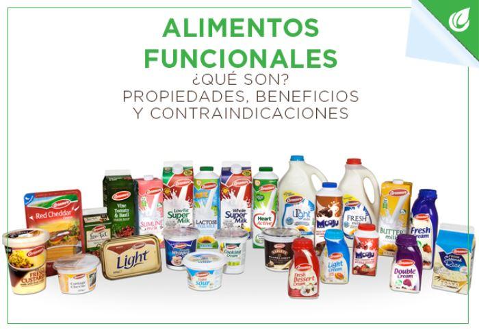¿Cuáles son las propiedades, los beneficios y las contraindicaciones al tomar alimentos funcionales naturales?