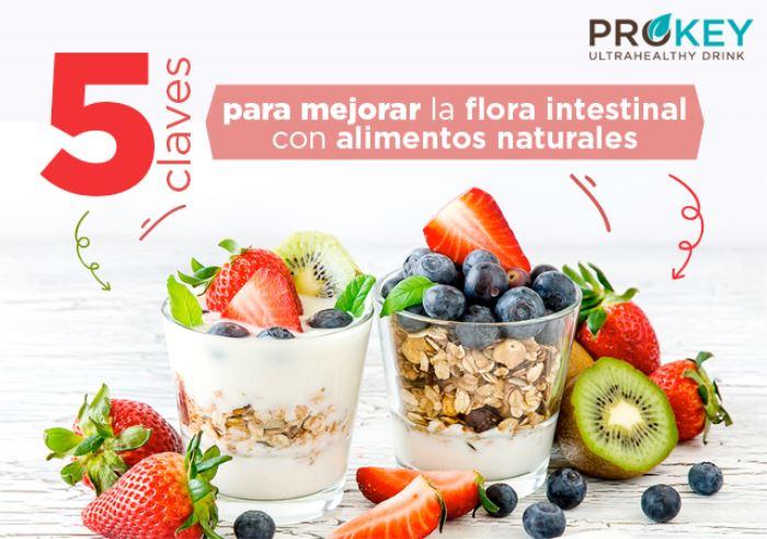 Claves para mejorar la salud intestinal con alimentos naturales