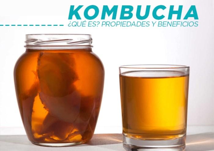Kombucha. Qué es, Propiedades, Beneficios y Contraindicaciones