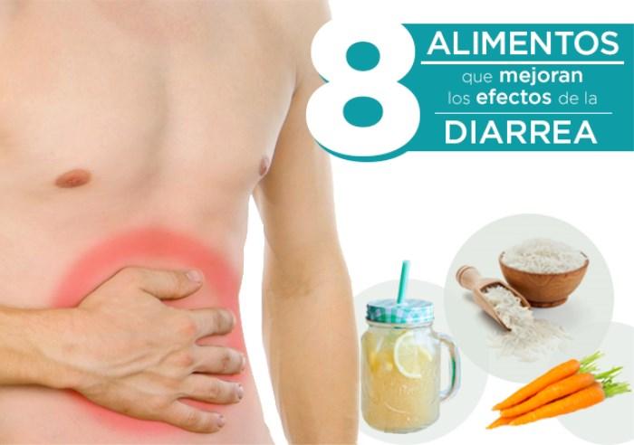 8 Alimentos que Mejoran los Efectos de la Diarrea