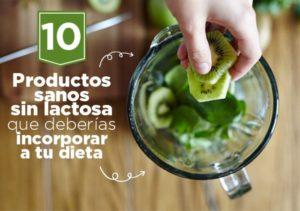 Alimentos sanos sin lactosa