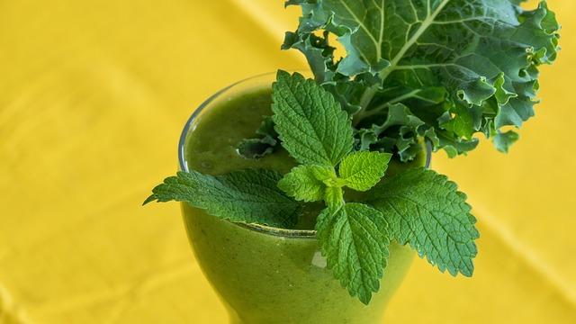 Receta batido verde kale y kéfir de agua