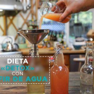 Dieta detox con kéfir de agua