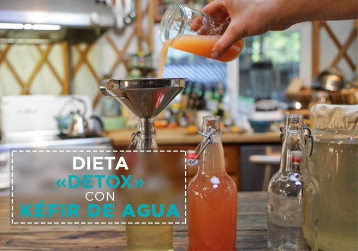 Dieta «Detox» que Funciona con Kéfir de Agua