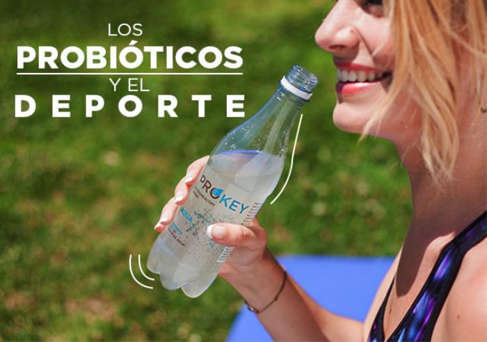 Probióticos y deporte, ¿por qué Prokey es un refresco beneficioso?