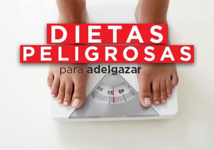 Las dietas milagro no existen