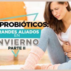 Los probióticos en el invierno te ayudarán con las digestiones pesadas