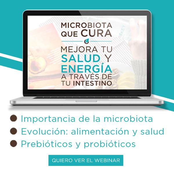 «MICROORGANISMOS QUE CURAN»: un webminario GRATUITO de nuestro experto en microbiota