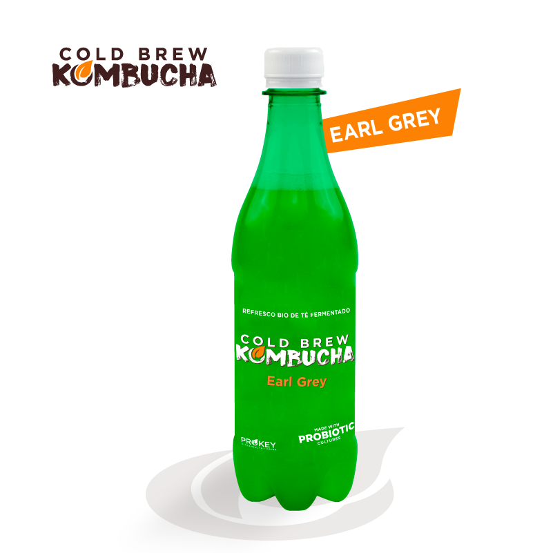 MONTHLY SUBSCRIPTION: COLD BREW KOMBUCHA EARL GREY (16x500ml monthly)
