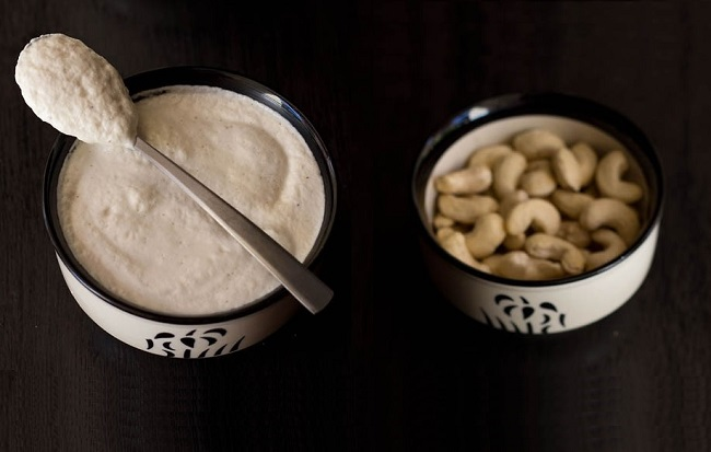 yogur vegano de kéfir de agua y anacardos