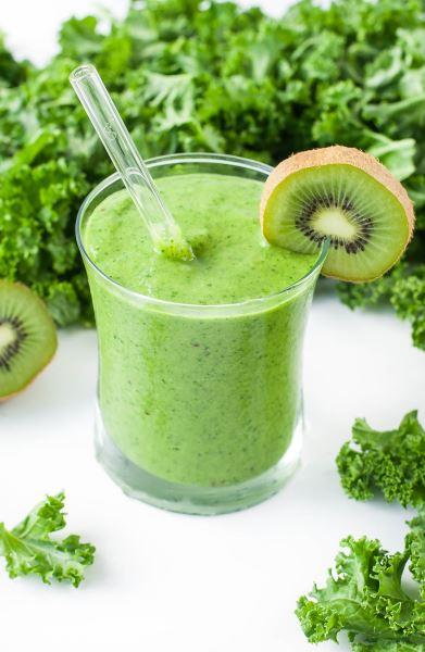 Batido verde, con fruta o con semillas y especias
