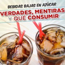Bebidas bajas en azúcar