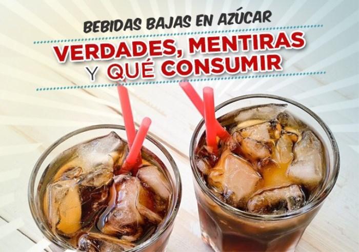 Bebidas Bajas en Azúcar. Verdades, Mentiras y qué Consumir