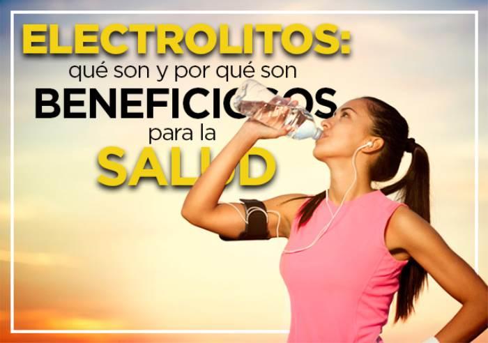 Dónde encontrar los electrolitos y qué aportan al cuerpo de los deportistas.