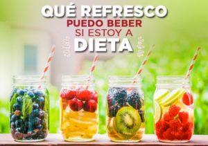 ¿Qué refrescos puedes beber si estás a dieta?