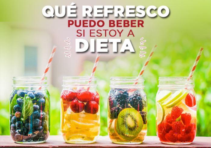 Qué Refresco puedo Beber si estoy a Dieta