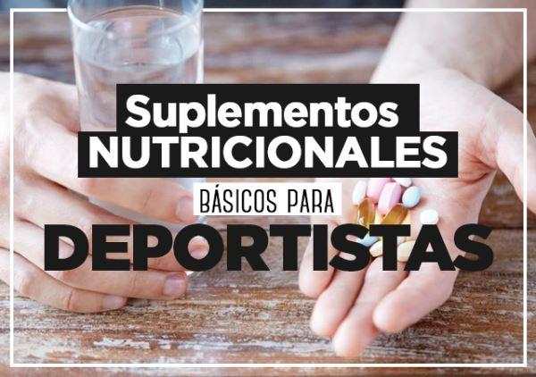 Tipos de suplementos nutricionales básicos para deportistas