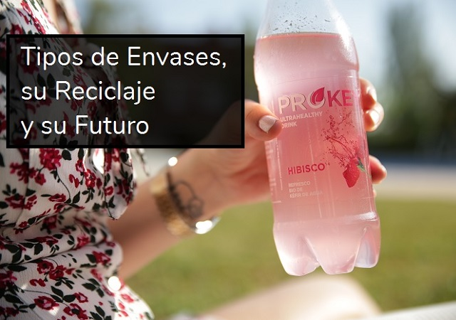 Tipos, reciclaje y futuro de los envases