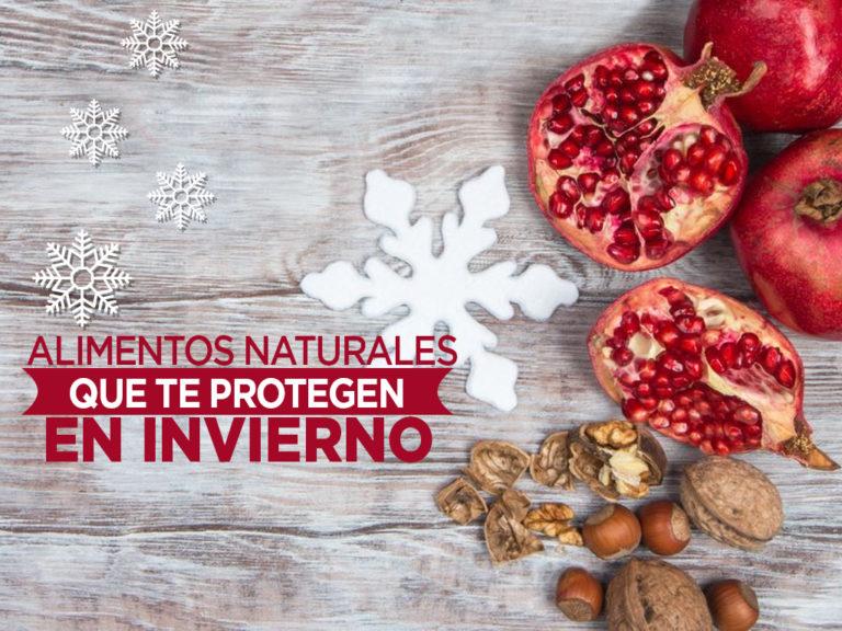 Alimentos naturales que te protegen del frío