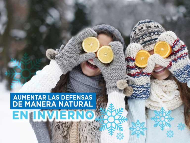 Aumentar las defensas de manera natural en invierno
