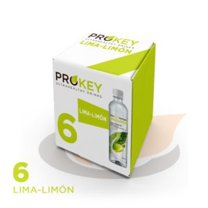 6 Prokey waters, Lemon Lime (6x500ml)