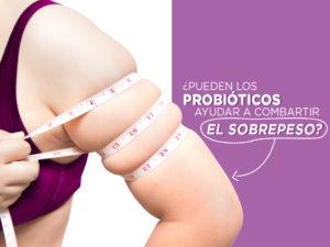 ¿pueden por probióticos ayudar con la obesidad?
