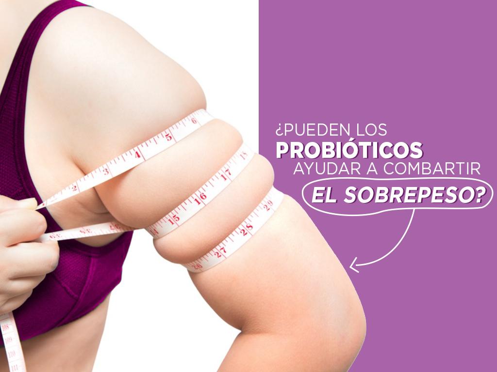 ¿Pueden los probióticos ayudar a combatir el sobrepeso?