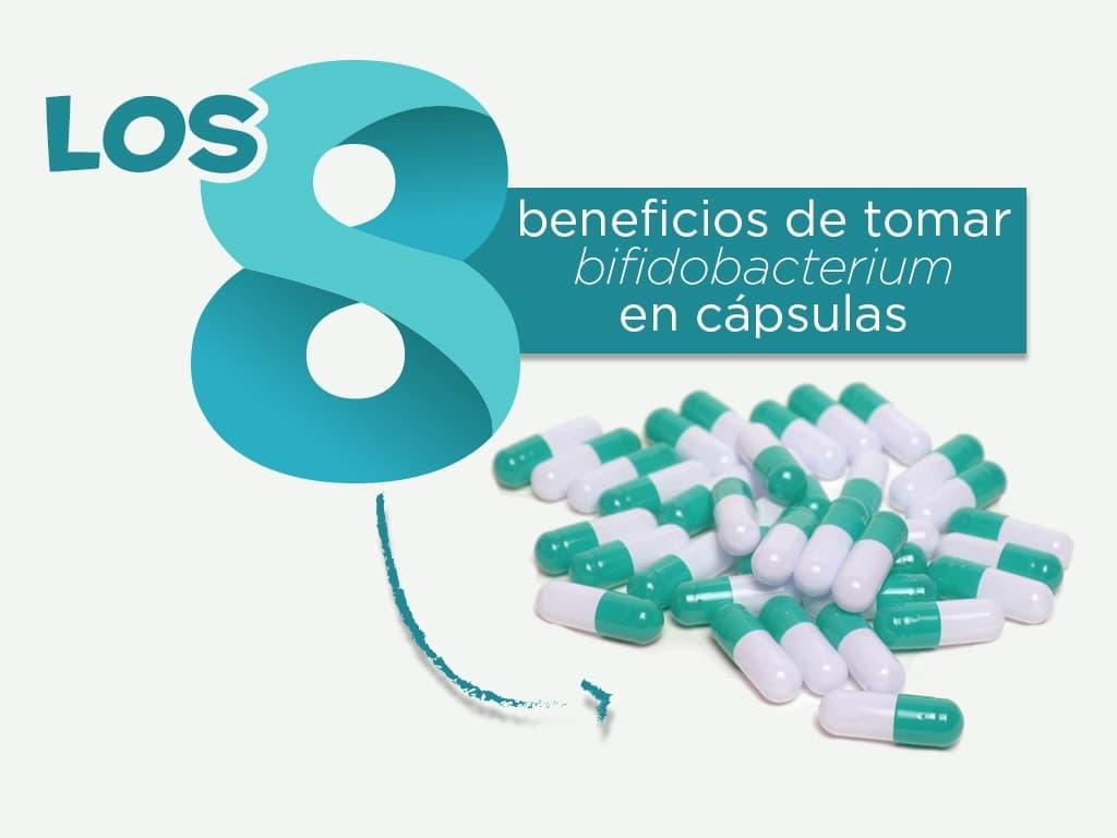 Los 8 beneficios de tomar bifidobacterium en cápsulas