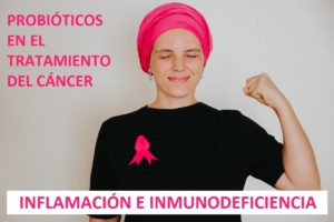 Probióticos inflamación inmunodeficiencia cáncer