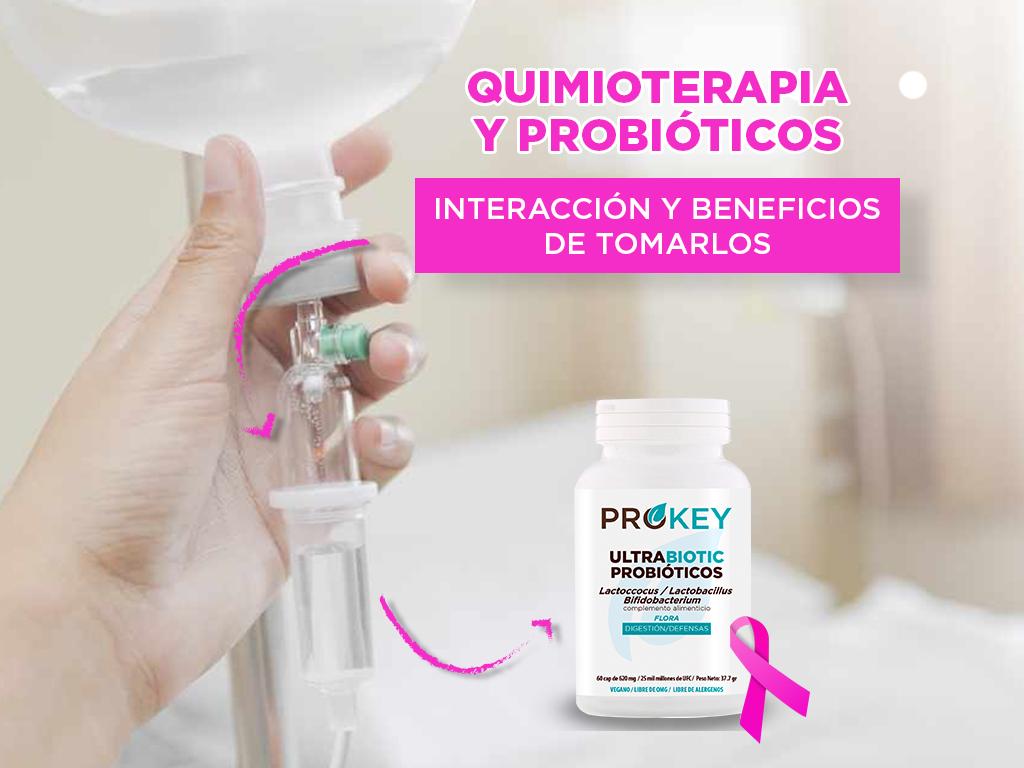 Quimioterapia y probióticos: interacción y beneficios de tomarlos