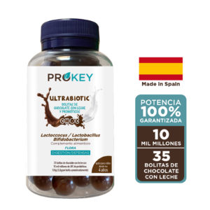 ULTRABIOTIC Choc Probiotics Kids and Adults Prokey, 35 balls