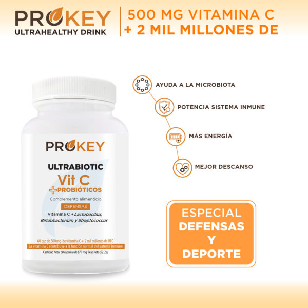 ultrabiotic vitamin c and probiotics
