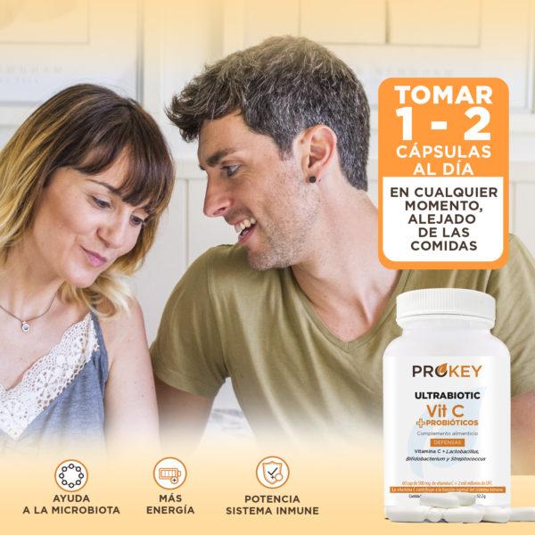 la vitamina c ultrabiotica i els probiòtics