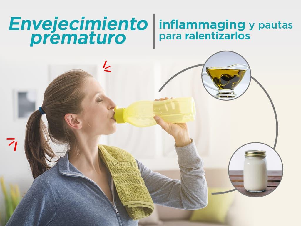Envejecimiento prematuro, inflammaging y pautas para ralentizarlos