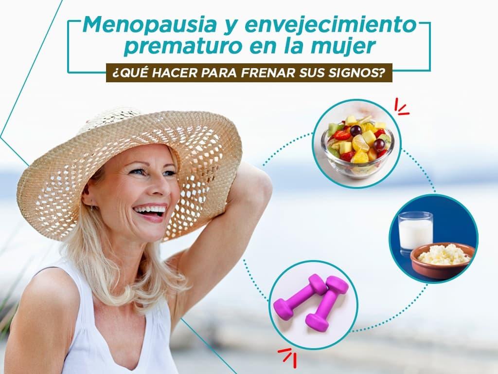 Consecuencias para la salud de una menopausia anticipada