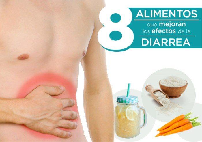 Alimentos para mejorar los efectos de la diarrea