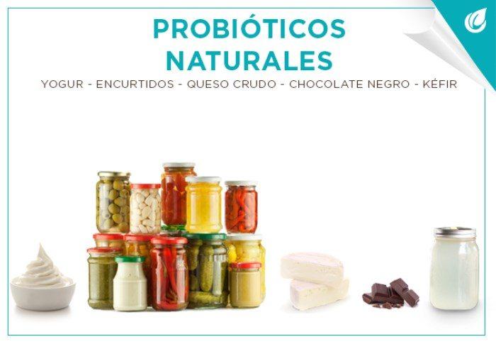 Probióticos naturales y sus grandes beneficios